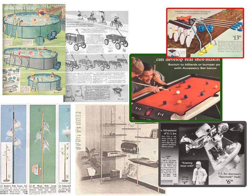 60's catalog ads
