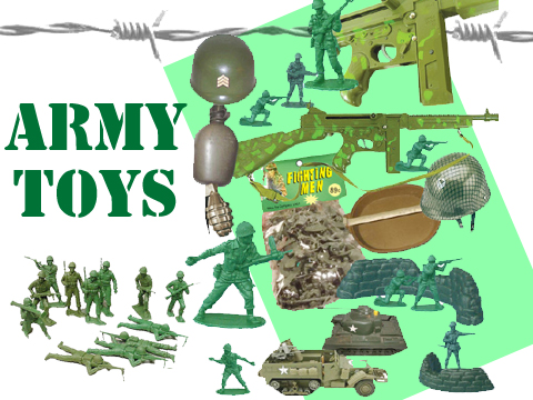 playing army