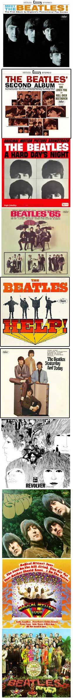 Beatle albums