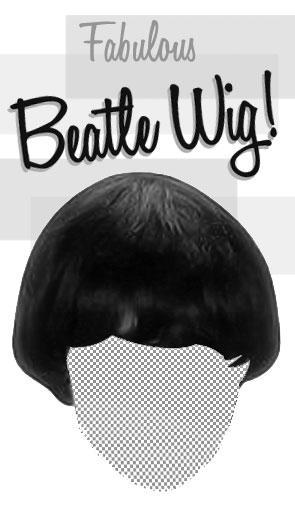 beatle wig