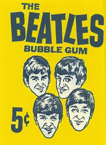 beatles bubble gum