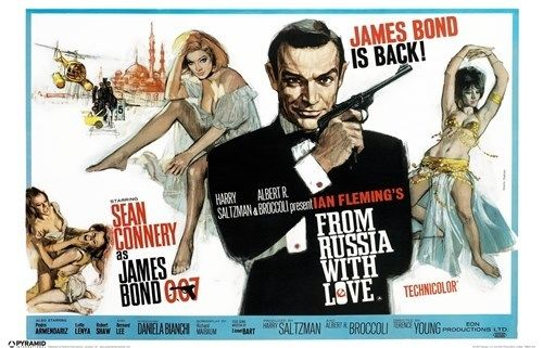 james bond theater ad