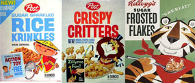 cereal of the 60's