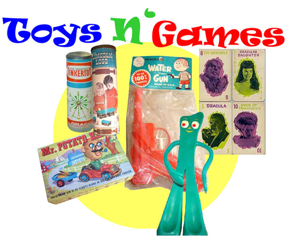 60 s games and toys