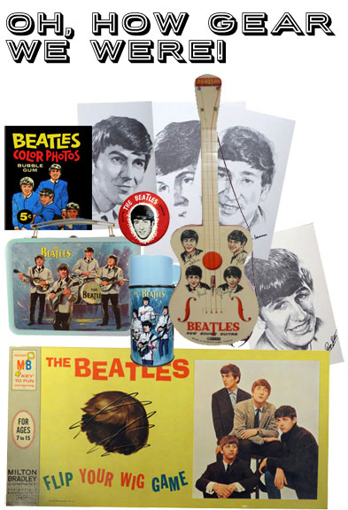 beatles merchandising