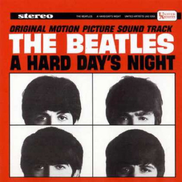 Beatles hard day's night album
