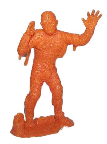 plastic mummy figure