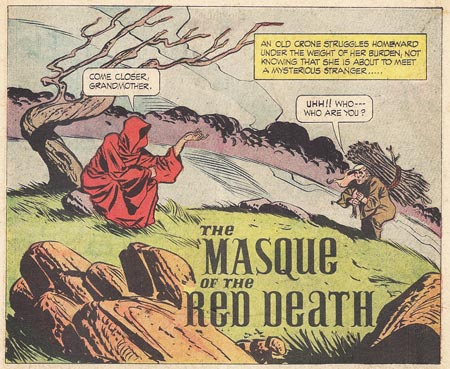 masque of the red death comic book