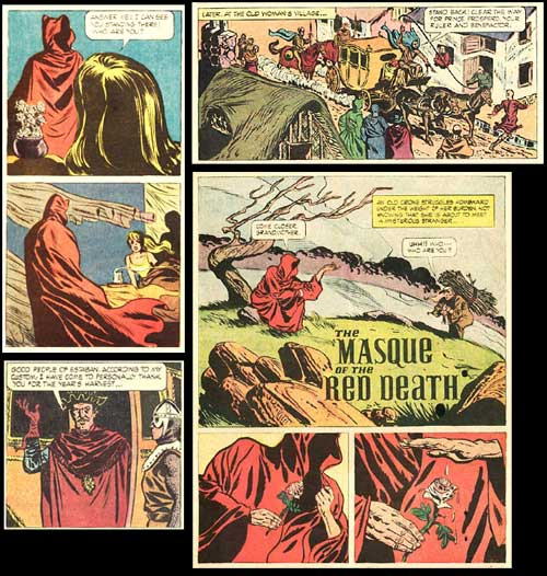 masque of the red death comic
